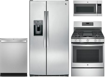 GE 1115420 Kitchen Appliance Package & Bundle Stainless Steel, Main image