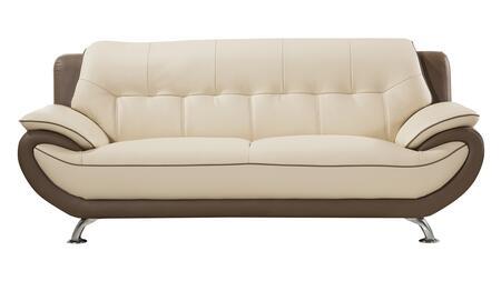 American Eagle Furniture EK-B600 EKB600CRMTPESF Stationary Sofa Beige, Main Image