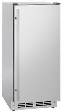 UCD100A30ADA-CF 15″ Tempo Series ADA Compliant Undercounter Ice Machine Bin with 90 lbs. Daily Ice Production  30 lbs. Storage Capacity  Drain Pump
