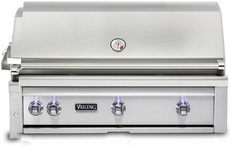 VQGI5421NSS 42″ Natural Gas Built-In Grill with Pro Sear Burner  Rotisserie  Grill Lighting  Temperature Gauge  in Stainless