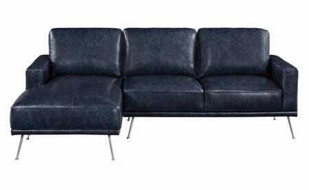 Coaster Norrot 508800 Sectional Sofa Blue, Main Image