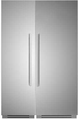 Bertazzoni  1309175 Column Refrigerator & Freezer Set Stainless Steel, 1