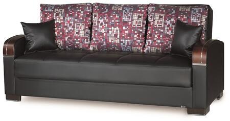 Casamode Mobimax MOBIMAXSOFABEDBLACKPU11448 Sofa Bed Black, Main Image
