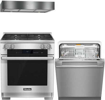 Miele 887283 Kitchen Appliance Package & Bundle Stainless Steel, main image