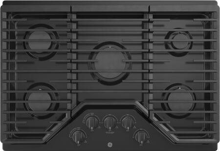 GE  JGP5030DLBB Gas Cooktop Black, Main Image