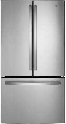 GE  GNE27EYMFS French Door Refrigerator Stainless Steel, GNE27EYMFS  French Door Refrigerator