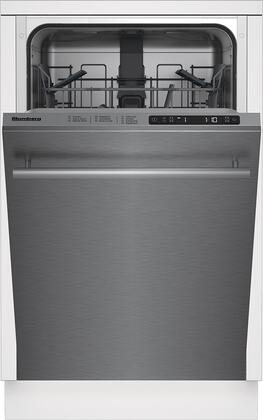 "Blomberg DWS51502SS Built-In Dishwasher Stainless Steel, DWS51502SS 18"" Slim Tub Dishwasher"