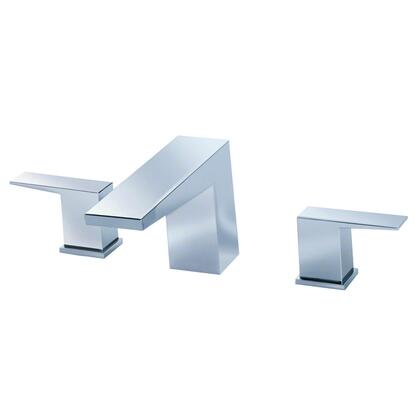 Mid-Town D300962BNT Deck Mount Three Piece Roman Tub Filler Trim  in Brushed