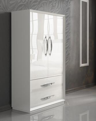 ESF Carmen CARMEN2DOORWDWHITE Wardrobe White, CARMEN2 DOORW/DWHITE Main Image