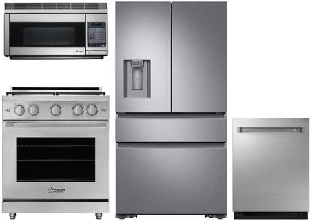 Dacor  1296313 Kitchen Appliance Package Stainless Steel, Main image