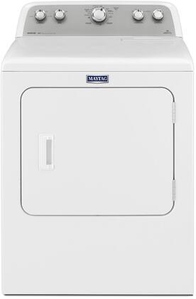 Maytag Bravos MGDX655DW Gas Dryer White, White