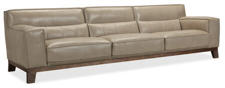 Hooker Furniture SS Series SS55635082 Stationary Sofa Beige, Silo Image