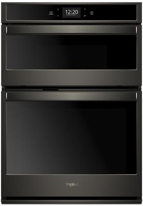 Whirlpool  WOC75EC7HV Double Wall Oven Black Stainless Steel, Main Image
