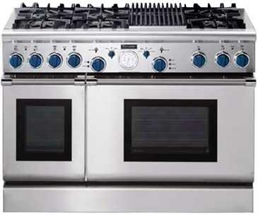 Thermador Pd486glbs 48 Inch Dual Fuel Range With 6 Burners
