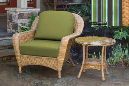 Tortuga Sea Pines LEXCT1MECHO Outdoor Patio Set Brown, LEXCT1MECHO Main Image