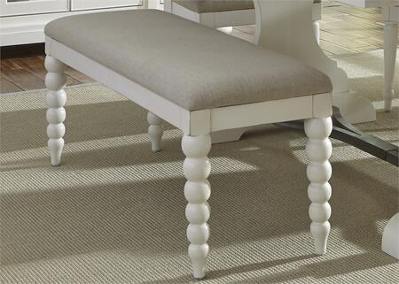 Liberty Furniture Harbor View II 631C6501B Bench White, Main Image
