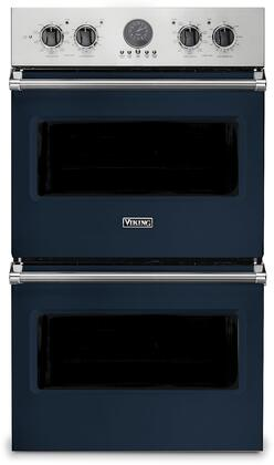 Viking 5 Series VDOE530SB Double Wall Oven Blue, VDOE530SB Electric Double Wall Oven