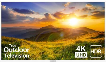 SB-S2-75-4K-WH 75″ Signature 2 Series 4K UHD Outdoor TV with HDR  OptiView Technology and TruVision Anti-Glare Technology in