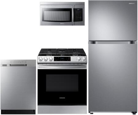 Samsung  908528 Kitchen Appliance Package Stainless Steel, main image