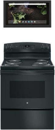 GE 1077285 Kitchen Appliance Package & Bundle Black, main image