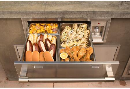 Alfresco AXEWD30 Outdoor Warming Drawer Stainless Steel, Main Image