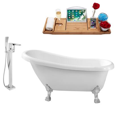 Streamline NH480CH100 Bath Tub, NH480CH 100 1T