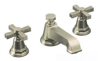 Kohler Pinstripe K131323ABN Faucet Silver, Image 1