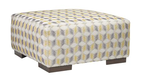 Benchcraft Fallsworth 9480208 Living Room Ottoman Yellow, Main Image