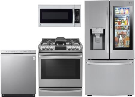 LG 1135150 Kitchen Appliance Package & Bundle Stainless Steel, main image