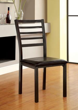 Furniture of America Colman CM3615SC4PKAS Dining Room Chair Black, Main Image