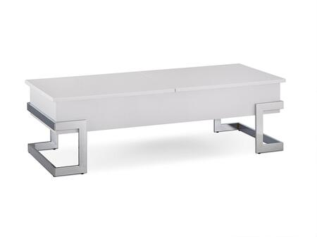 Acme Furniture Calnan 81850 Coffee and Cocktail Table White, 1