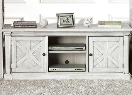 Furniture of America Georgia CM5089TV60 52 in. and Up TV Stand White, Main Image