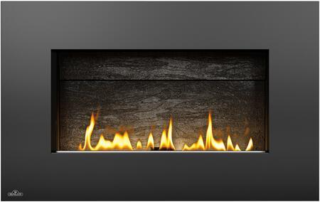 Napoleon Plazmafire VF31 WHVF31N Fireplace Black, Rectangular Black Surround