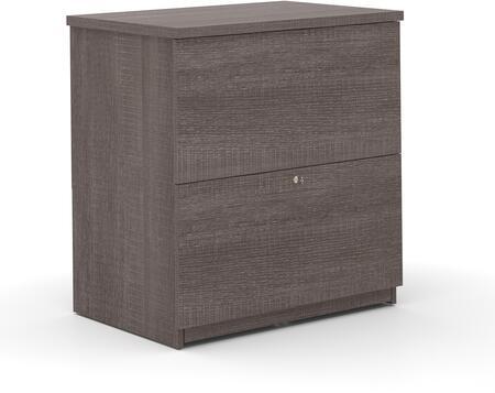 Bestar Furniture Universel 656352147 File Cabinet Gray, 656352147