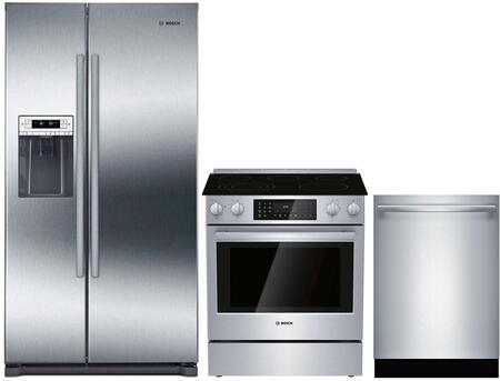 Bosch  1005968 Kitchen Appliance Package Stainless Steel, main image