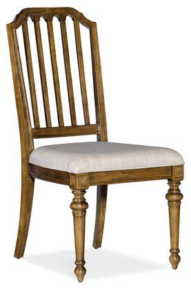 Hooker Furniture Ballantyne 58407541080 Dining Room Chair Beige, Silo Image