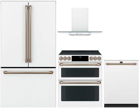 Cafe Customizable Professional Collection 1066869 Kitchen Appliance Package White, main image