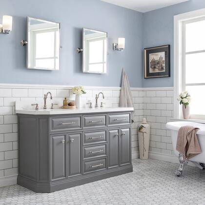 Water Creation PA60C0512 Sink Vanity, 1