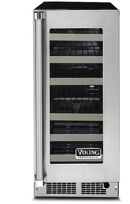 Viking 5 Series VWUI5150GRSS Wine Cooler 25 Bottles and Under Stainless Steel, Main Image
