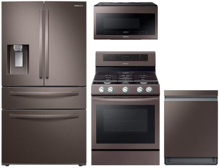 Samsung 1115179 Kitchen Appliance Package & Bundle Tuscan Stainless Steel, main image