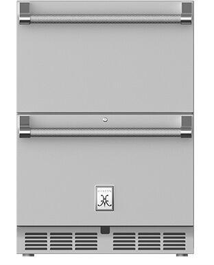 Hestan  GRFR24 Drawer Refrigerator Stainless Steel, Main Image