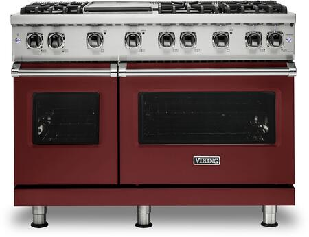 Viking 5 Series VGR5486GRE Freestanding Gas Range Red, VGR5486GRE Gas Range