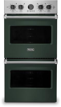 Viking 5 Series VDOE527BF Double Wall Oven Green, VDOE527BF Electric Double Wall Oven