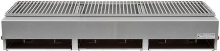 Lazy Man Model A A3TSN Natural Gas Grill Stainless Steel, Main Image