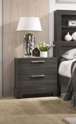 Acme Furniture Lantha 22033 Nightstand Gray, Nightstand