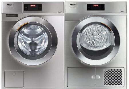 Miele Little Giants 1418903 Washer & Dryer Set Stainless Steel, Main image