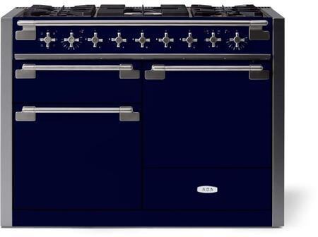 AGA Elise AEL481DFSKY Freestanding Dual Fuel Range Blue, AEL481DFSKY Dual Fuel Range