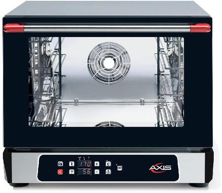 Axis  AX514RHD Commercial Convection Oven Black, AX-514RHD Half Size Convection Oven with Humidity
