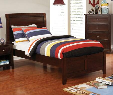 Furniture of America Brogan CM7517CHBED Bed, 1