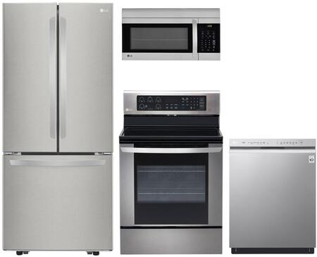LG 719849 Kitchen Appliance Package & Bundle Stainless Steel, main image